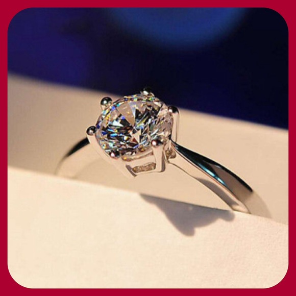 f796f28559 Junxin Jewelry | Gorgeous White Sapphire Ring | Poshmark